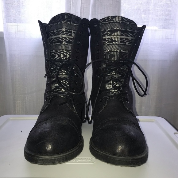 Mia Shoes - MUST GO! MIA Combat Boots DSW